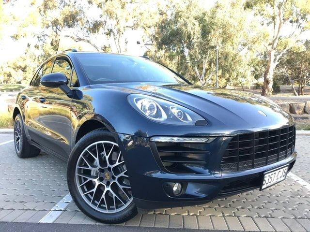Used Porsche Macan 95B MY16 S PDK AWD Diesel Adelaide, 2015 Porsche Macan 95B MY16 S PDK AWD Diesel Blue 7 Speed Sports Automatic Dual Clutch Wagon