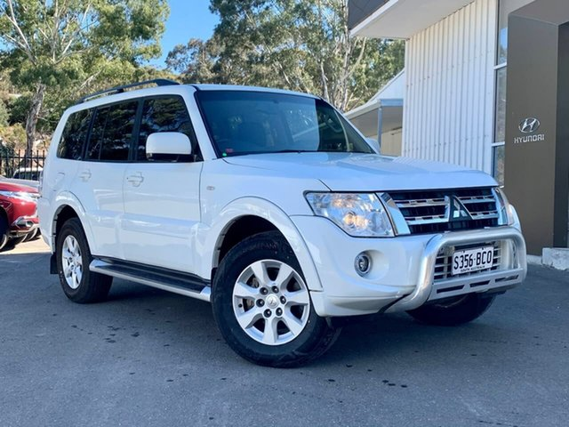 Used Mitsubishi Pajero NW MY12 GLS Clare, 2012 Mitsubishi Pajero NW MY12 GLS White 5 Speed Sports Automatic Wagon