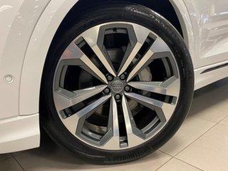 2019 Audi Q8 4M MY19 55 TFSI Quattro Mhev Glacier White 8 Speed Automatic Tiptronic Wagon.