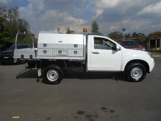 2016 Isuzu D-MAX TF MY15.5 SX HI-Ride (4x2) White 5 Speed Automatic Cab Chassis