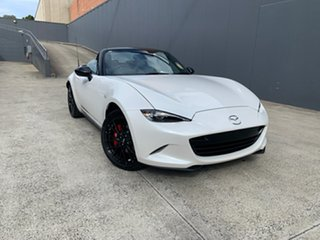 2021 Mazda MX-5 ND GT SKYACTIV-MT RS Snowflake White 6 Speed Manual Roadster