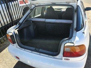 1998 Kia Mentor GLX White 5 Speed Manual Hatchback