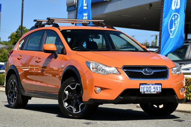 Used Subaru XV G4X MY13 2.0i AWD Melville, 2013 Subaru XV G4X MY13 2.0i AWD Tangerine Orange 6 Speed Manual Wagon