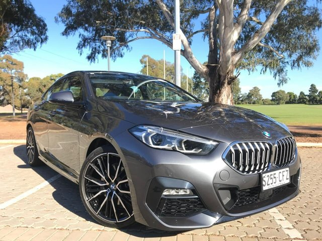 Used BMW 2 Series F44 218i Gran Coupe DCT Steptronic M Sport Adelaide, 2020 BMW 2 Series F44 218i Gran Coupe DCT Steptronic M Sport Grey 7 Speed