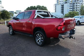2018 Toyota Hilux GUN126R SR5 Double Cab Olympia Red 6 Speed Manual Utility
