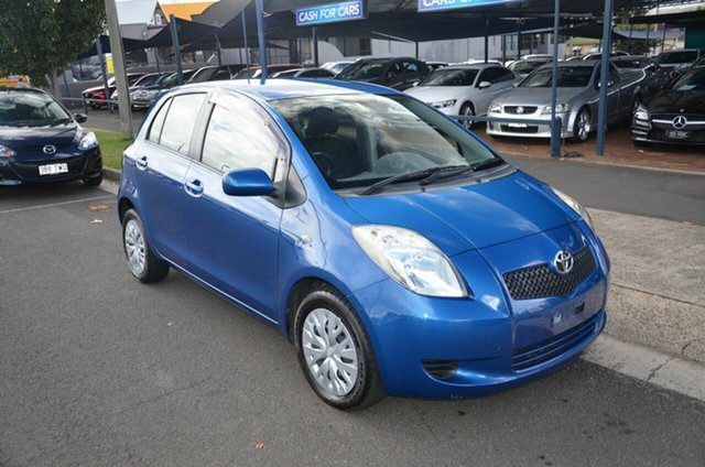 Used Toyota Yaris NCP91R YRS Toowoomba, 2008 Toyota Yaris NCP91R YRS Blue 4 Speed Automatic Hatchback