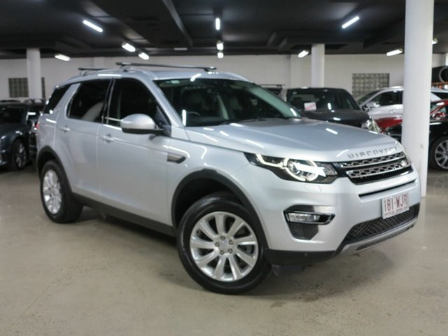 Used Land Rover Discovery Sport L550 16.5MY SE Albion, 2016 Land Rover Discovery Sport L550 16.5MY SE Silver 9 Speed Sports Automatic Wagon