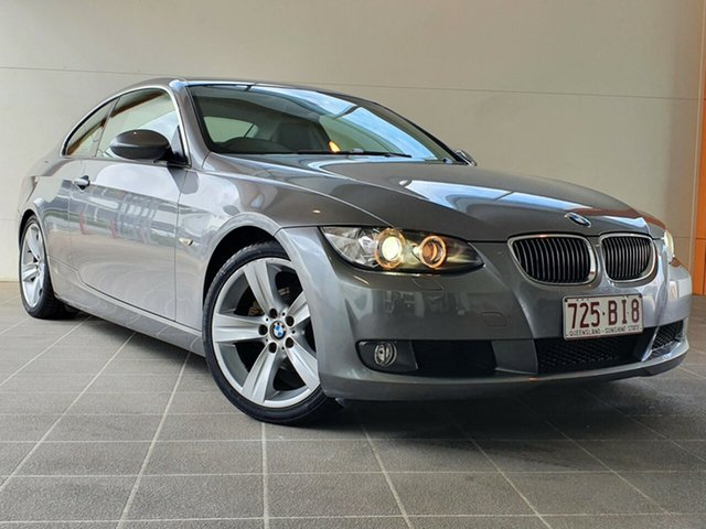 Used BMW 323i Brendale, 2007 BMW 323i Grey Sequential Auto Coupe