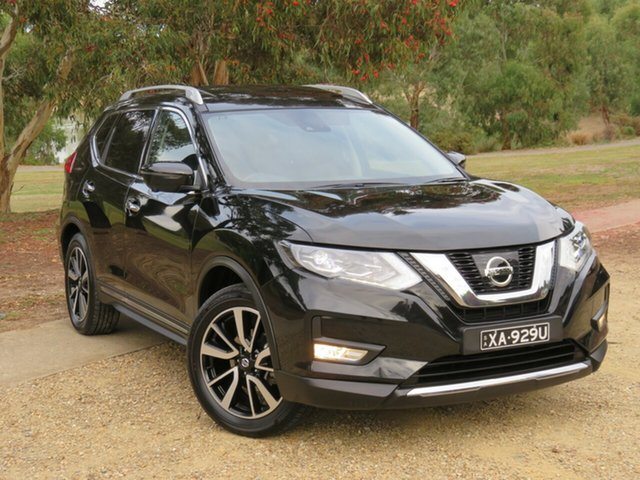 Used Nissan X-Trail T32 Series II Ti X-tronic 4WD Morphett Vale, 2019 Nissan X-Trail T32 Series II Ti X-tronic 4WD Black 7 Speed Constant Variable Wagon