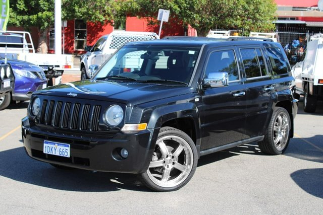 Used Jeep Patriot MK MY2009 Sport Midland, 2009 Jeep Patriot MK MY2009 Sport Black 5 Speed Manual Wagon