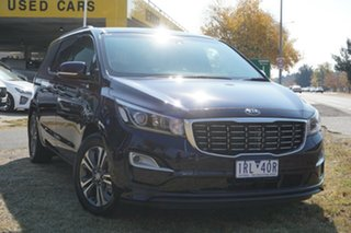 2020 Kia Carnival YP MY20 SLi Blue 8 Speed Sports Automatic Wagon.