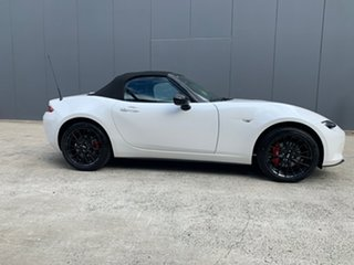2021 Mazda MX-5 ND GT SKYACTIV-MT RS Snowflake White 6 Speed Manual Roadster.