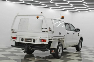 2015 Ford Ranger PX MkII XL 2.2 Hi-Rider (4x2) White 6 Speed Automatic Crew Cab Chassis