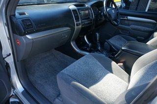 2008 Toyota Landcruiser Prado KDJ120R GXL Silver Ash 5 Speed Automatic Wagon
