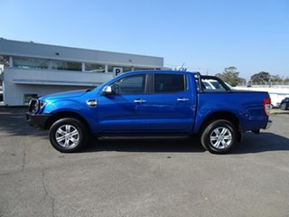2020 Ford Ranger PX MkIII 2021.25MY XLT Double Cab Blue Lightning 6 Speed Automatic