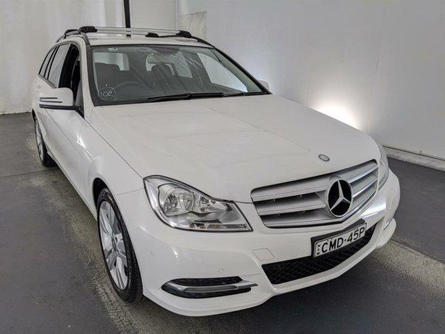 Used Mercedes-Benz C-Class W204 MY13 C200 BlueEFFICIENCY 7G-Tronic + Elegance Maryville, 2012 Mercedes-Benz C-Class W204 MY13 C200 BlueEFFICIENCY 7G-Tronic + Elegance White 7 Speed