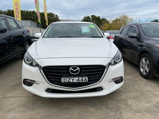 2016 Mazda 3 BM5478 Touring SKYACTIV-Drive White 6 Speed Sports Automatic Hatchback