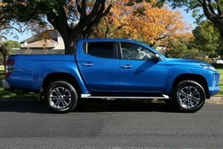 2020 Mitsubishi Triton MR MY20 GLS Double Cab Blue 6 Speed Sports Automatic Utility