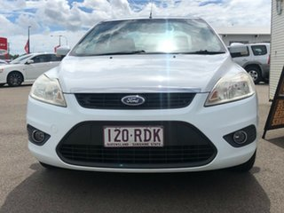 2010 Ford Focus LV LX White 4 Speed Sports Automatic Sedan