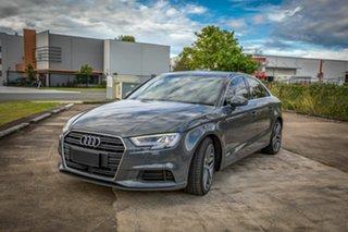2016 Audi A3 8V MY17 Sportback S Tronic Silver 7 Speed Sports Automatic Dual Clutch Hatchback.