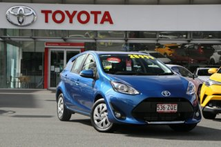 2020 Toyota Prius c NHP10R E-CVT Blue 1 Speed Constant Variable Hatchback Hybrid.