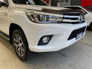2017 Toyota Hilux GUN126R SR5 White Sports Automatic Utility