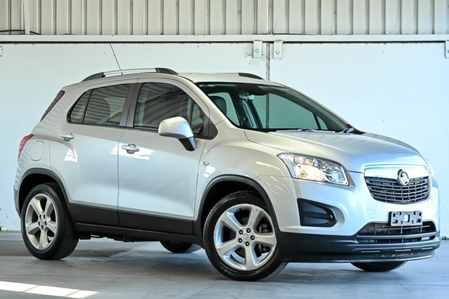 Used Holden Trax TJ MY15 LS Laverton North, 2015 Holden Trax TJ MY15 LS Silver 6 Speed Automatic Wagon