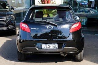 2007 Mazda 2 DE10Y1 Genki Black 4 Speed Automatic Hatchback