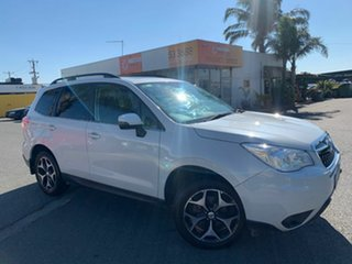 2014 Subaru Forester MY14 2.5I-S White Continuous Variable Wagon.