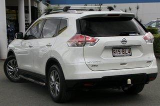 2015 Nissan X-Trail T32 Ti X-tronic 4WD N-TREK Snow White Pearl 7 Speed Constant Variable Wagon.