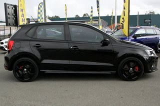2013 Volkswagen Polo 6R MY13.5 GTI DSG Deep Black 7 Speed Sports Automatic Dual Clutch Hatchback