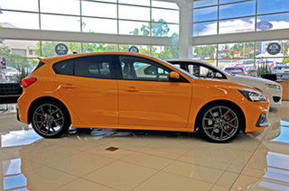 2020 Ford Focus SA 2021MY ST Orange Fury 7 Speed Automatic Hatchback