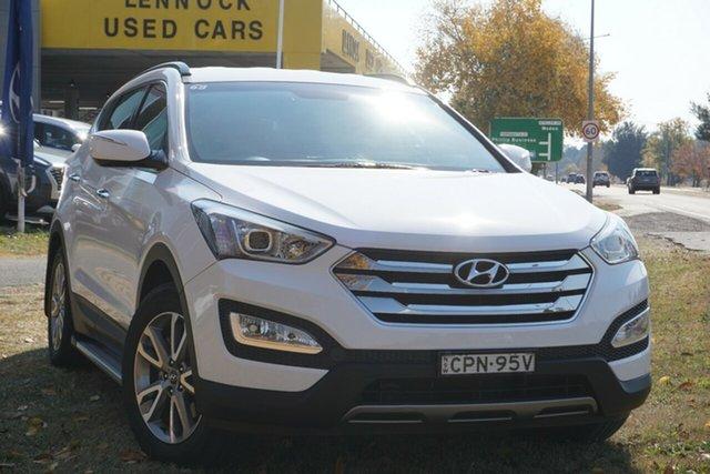 Used Hyundai Santa Fe DM MY13 Elite Phillip, 2013 Hyundai Santa Fe DM MY13 Elite White 6 Speed Sports Automatic Wagon