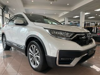 2021 Honda CR-V RW MY21 VTi 4WD LX AWD Platinum White 1 Speed Constant Variable Wagon