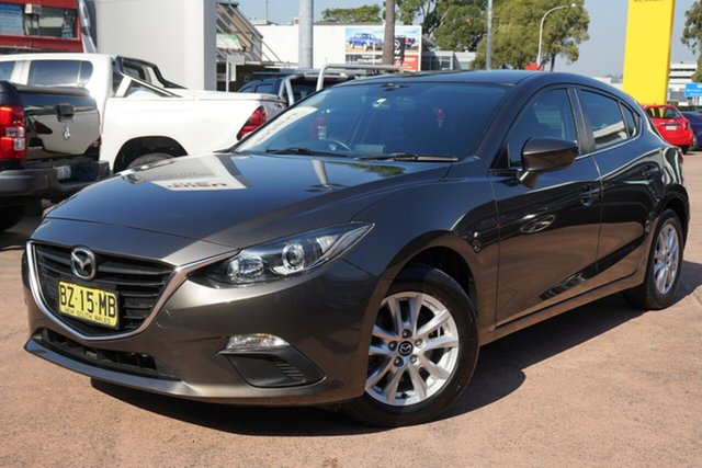 Used Mazda 3 BM Maxx Brookvale, 2014 Mazda 3 BM Maxx Bronze 6 Speed Automatic Hatchback
