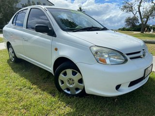 2004 Toyota Echo NCP10R MY03 White 4 Speed Automatic Hatchback.