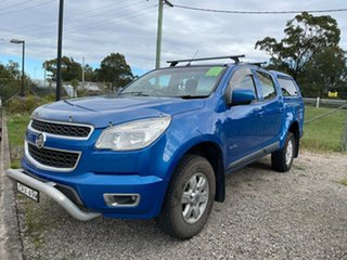 2013 Holden Colorado RG MY13 LTZ Crew Cab Blue 6 Speed Sports Automatic Utility.