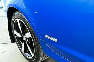 2016 Holden Commodore VF II MY16 SV6 Black Blue 6 Speed Sports Automatic Sedan.