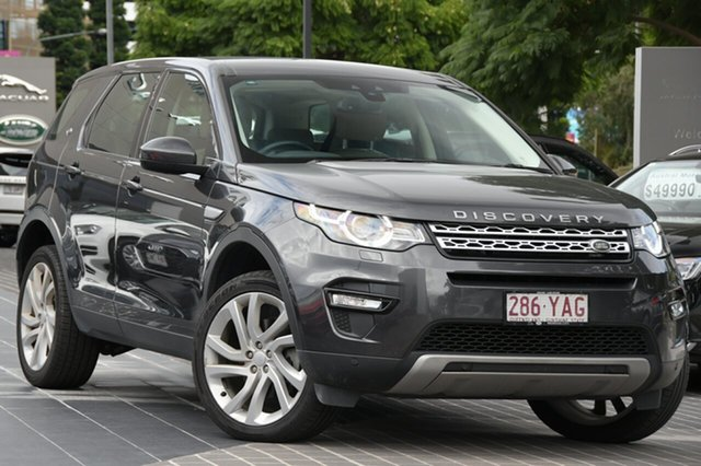 Used Land Rover Discovery Sport L550 18MY HSE Newstead, 2018 Land Rover Discovery Sport L550 18MY HSE Grey 9 Speed Sports Automatic Wagon