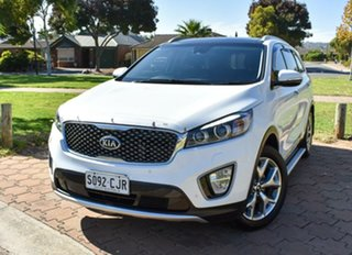 2017 Kia Sorento UM MY17 Platinum AWD White 6 Speed Sports Automatic Wagon