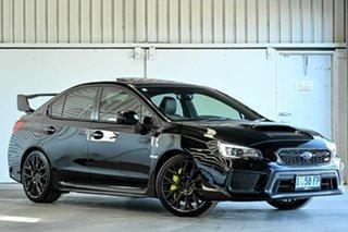2018 Subaru WRX V1 MY19 STI AWD Premium Black 6 Speed Manual Sedan.