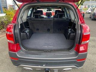 2014 Holden Captiva CG MY15 7 AWD LTZ Red 6 Speed Sports Automatic Wagon