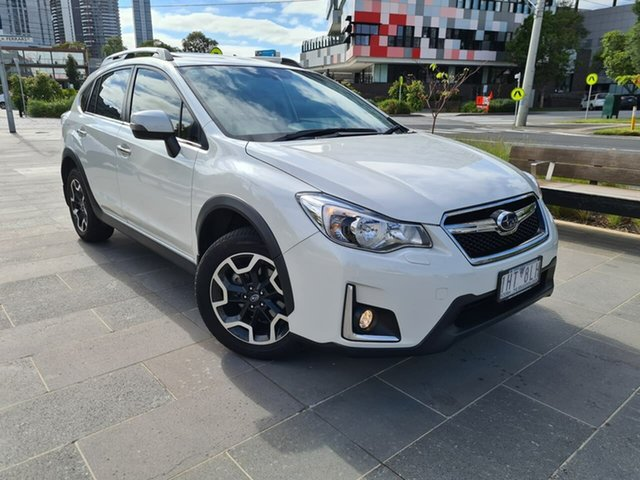 Used Subaru XV G4X MY16 2.0i-S Lineartronic AWD South Melbourne, 2016 Subaru XV G4X MY16 2.0i-S Lineartronic AWD White 6 Speed Constant Variable Wagon