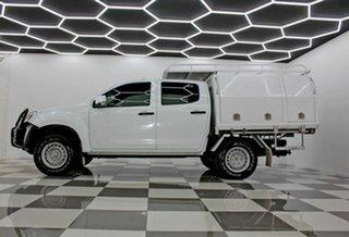 2016 Isuzu D-MAX TF MY15.5 SX HI-Ride (4x2) White 5 Speed Automatic Crew Cab Chassis