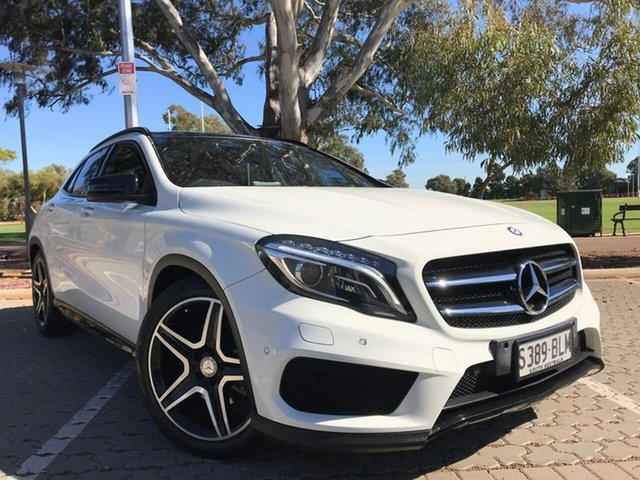 Used Mercedes-Benz GLA-Class X156 806MY GLA250 DCT 4MATIC Adelaide, 2016 Mercedes-Benz GLA-Class X156 806MY GLA250 DCT 4MATIC White 7 Speed Sports Automatic Dual Clutch
