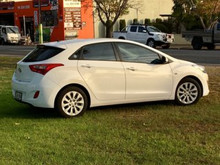 2016 Hyundai i30 GD4 Series II MY17 Active Polar White 6 Speed Sports Automatic Hatchback.