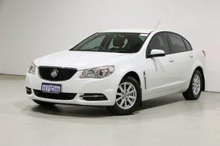 2013 Holden Commodore VF Evoke (LPG) White 6 Speed Automatic Sedan.