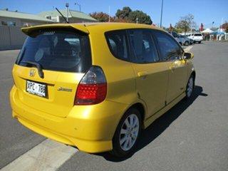 2007 Honda Jazz GD VTi-S Yellow 7 Speed Constant Variable Hatchback