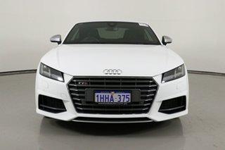 2016 Audi TT FV S 2.0 TFSI Quattro White 6 Speed Auto Dual Clutch Coupe.