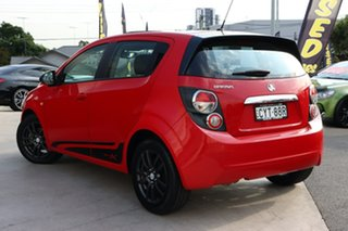 2015 Holden Barina TM MY16 X Blaze Red 6 Speed Automatic Hatchback.